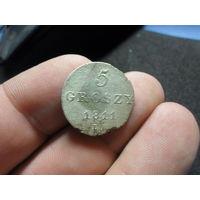 5 грошей 1811 г. IB Княжество (Герцегство) Варшавское