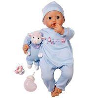 Кукла  Baby ANNABELL(46см,мальчик) с мимикой , пр-ль Zapf Creation(Германия) с музыкальной овечкой(кукла (оригинал, в оригинальной упаковке)+подарок