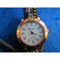 Часы женские кварцевые Duoya на ходу с рубля!