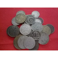 Лот монет 27шт. в основном советы до реформы с рубля