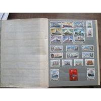 Коллекция марок, марки, альбомы, книги