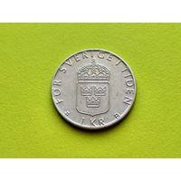 Швеция. 1 крона 2000.