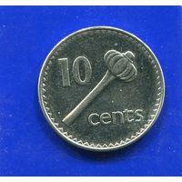 Фиджи 10 центов 1994