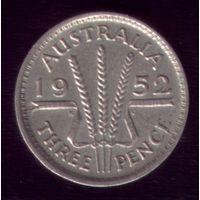 3 пенса 1952 год Австралия