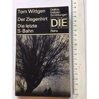 Wittgen Der Ziegenhirt Книга детектив роман на немецком языке Издательство Германия 165 стр