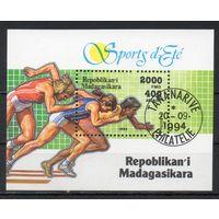 Спорт Мадагаскар 1994 год 1 блок