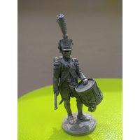 Солдатик оловянный барабанщик наполеоновских войн