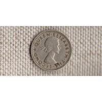 Родезия и Ньясаленд 3 пенса 1962 /Xx