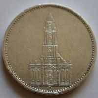 Германия, 5 марок 1934 D (серебро)