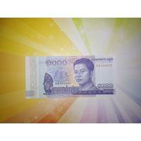 Камбоджа 1000 риэль 2016г
