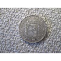 5  песет ,   Испания ,  1870  г.