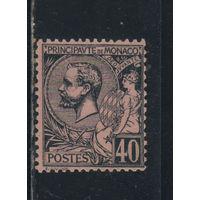 Монако 1891 Альберт I Стандарт #17*