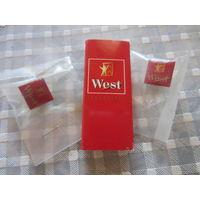 Пепельницы фирменные West и Winston