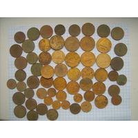 Монеты 60 шт до 1961 г