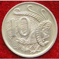 7284:  10 центов 1981 Австралия