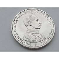 KM# 536 5 MARK 27.7770 g., 0.9000 Silver 0.8037 oz. ASW, 38 mm.