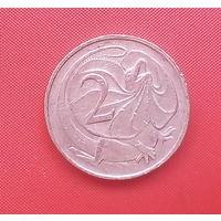 62-11 Австралия, 2 цента 1966 г.