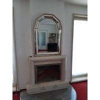 Старинное винтажное зеркало в единственном экземпляре