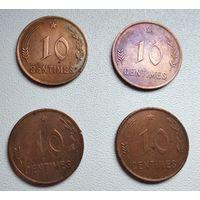 Люксембург 10 сантимов, 1930 6-3-1*4