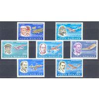 Румыния 1978 Самолёты. Пионеры авиации, 7 марок