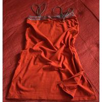 Triumph из СССР France винтажный сарафан-трансформер на бретельках