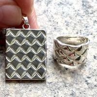 Кулон и кольцо комплект