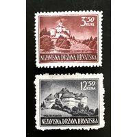 Независимое государство Хорватия (1941-1945). Замки Хорватии. Март 1943 год.
