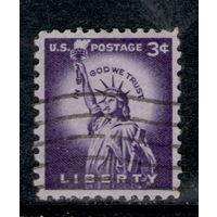 Марка США Статуя свободы