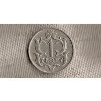 Польша 1 злотый 1929/Xx