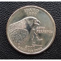 США Айдахо 25 центов 2007 г. Р