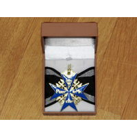 """Орден """"Pour le Merite"""" (За заслуги) - мальтийский крест с шейной лентой. ПМВ. Пруссия."""