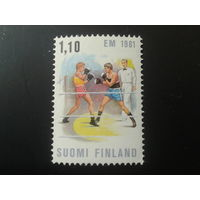 Финляндия 1981 бокс