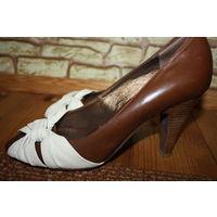 Туфли 39 натуральная кожа