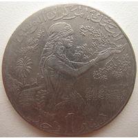 Тунис 1 динар 2009 г. (d)