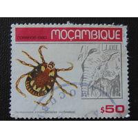 Мозамбик 1980г. Фауна.