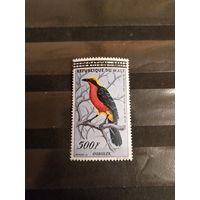 1960 Мали фауна птица дорогая концовка чистая клей след от наклейки (2-14)