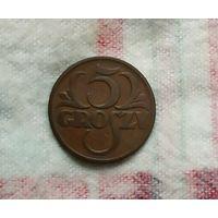 5 грошей Польша 1928