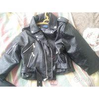 Куртка рокерская детская