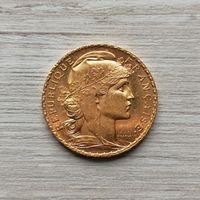 20 франков 1910 Марианна! AUNC!