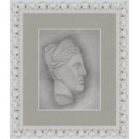 Рисунок, карандаш, гипсовая голова 90-е
