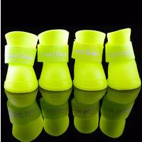 Сапожки ботиночки резиновые силиконовые для собак размер M S L