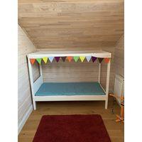 Кровать детская 169х77.5х127.5 с матрасом и наматрасником. В ОТЛИЧНОМ состоянии