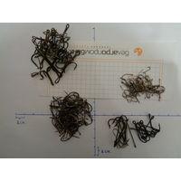 Крючки рыболовные (в лоте примерно 270-280 штук)