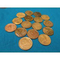 3 копейки 1929,30,32,36,37,38,46,49,54,56 года всего 16 монет