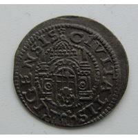 Шиллинг вольной Риги 1579.
