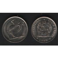 Южная Африка (ЮАР) _km84 5 центов 1988 год (b06)