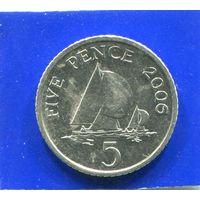 Гернси 5 пенсов 2006