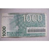 Ливан 1000 ливров.