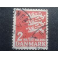 Дания 1946 герб