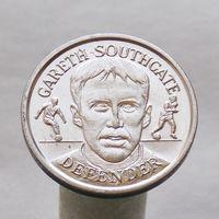 Английский футбольный жетон официальная сборная GARETH SOUTHGATE